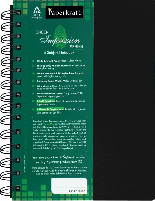 Paperkraft A5 Notebook