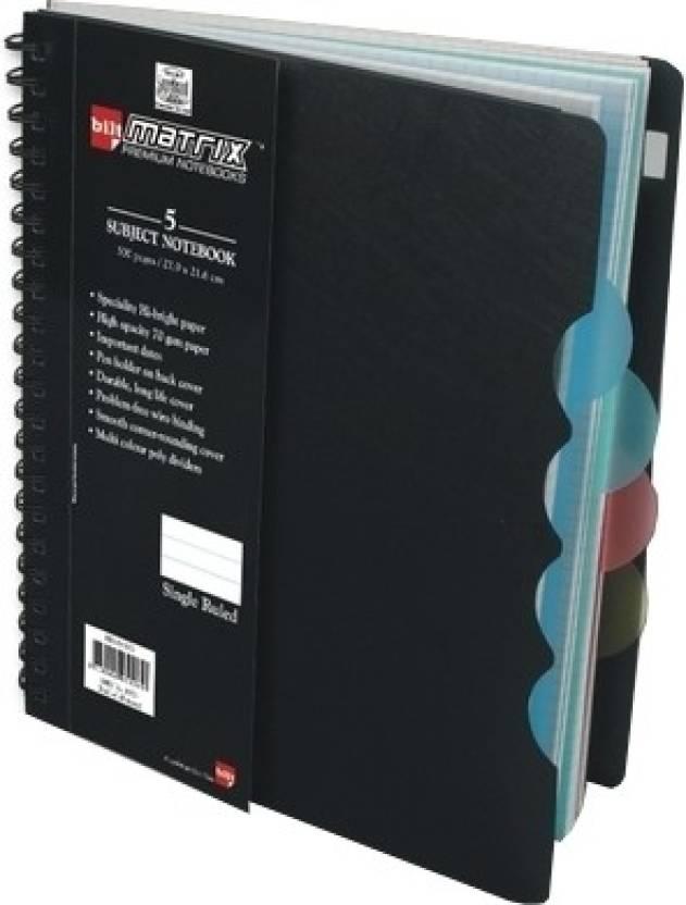 Bilt A5 Notebook