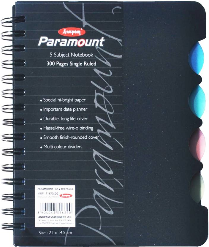 Anupam A5 Notebook