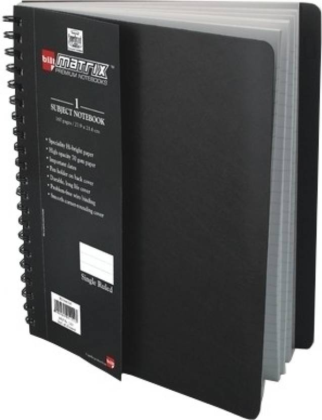 Bilt A4 Notebook