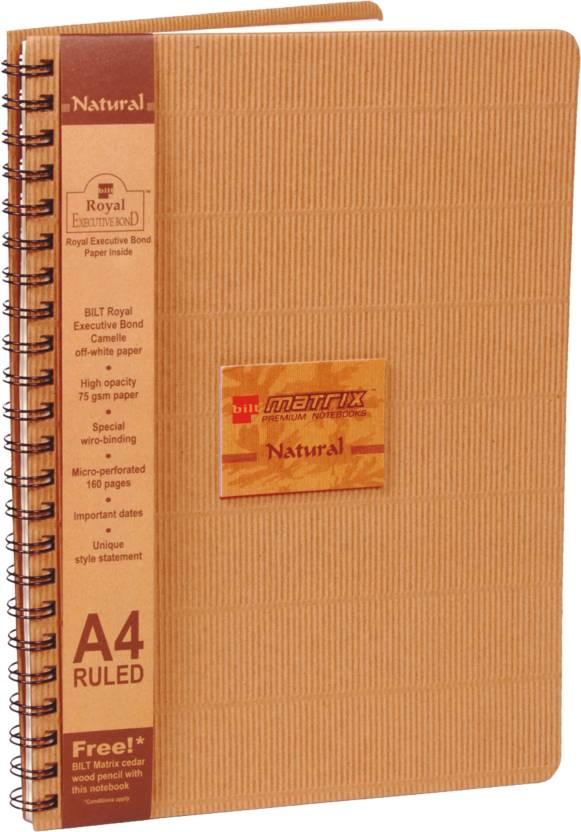 Bilt A4 Notebook