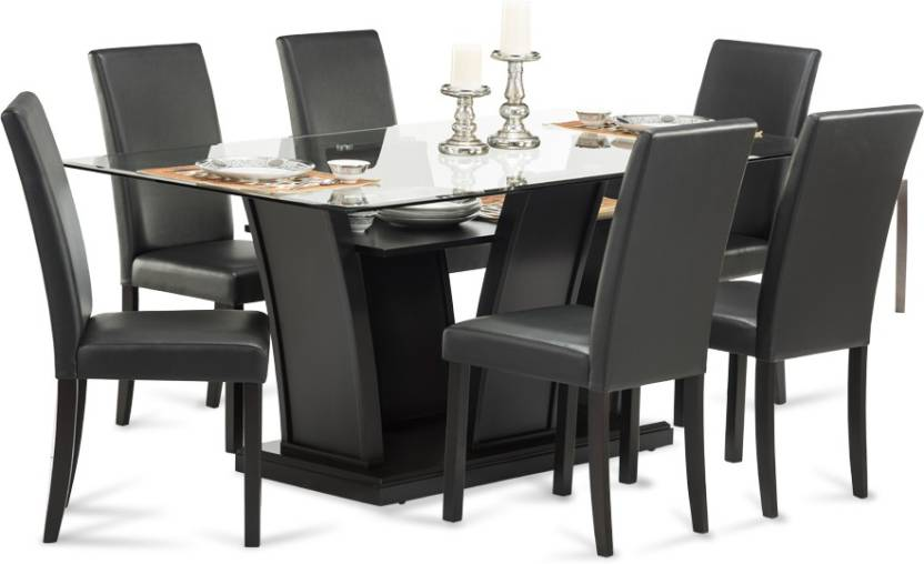 Durian Fraser Gl 6 Seater Dining Set
