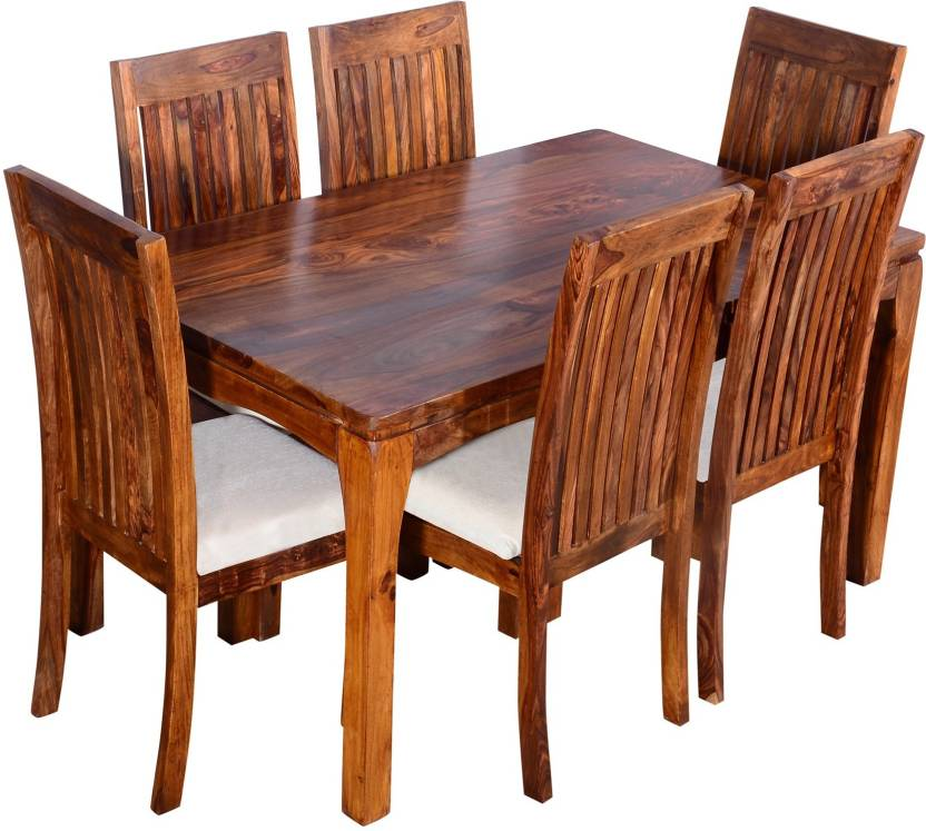 Swell Ringabell Elmond Six Seater Solid Wood 6 Seater Dining Set Home Interior And Landscaping Ologienasavecom