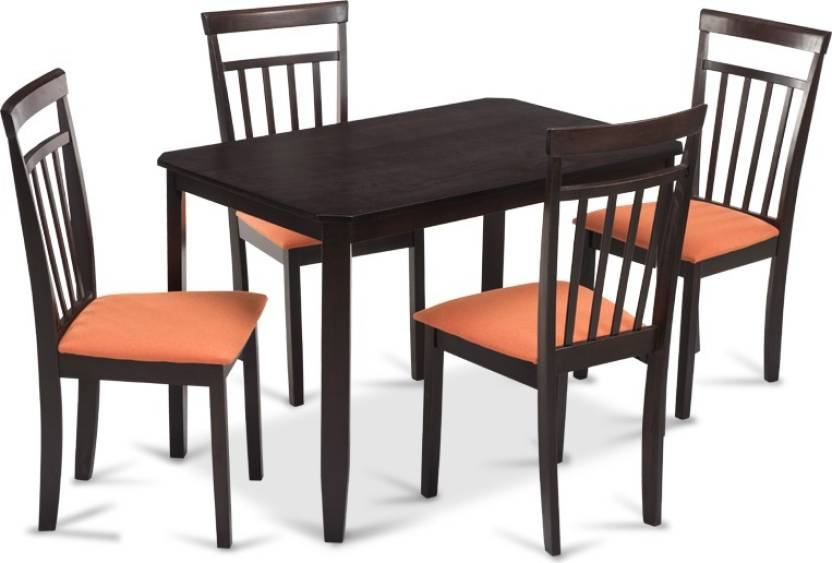 Incredible Durian Naples A Engineered Wood 4 Seater Dining Set Price In Home Interior And Landscaping Ologienasavecom