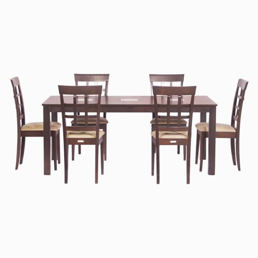 Godrej Interio Leo amp Lisa Dining Set Solid Wood 6 Seater  : leo lisa dinning set 6 seater rubber wood godrej interio beige original imaegwnazqhv5uak from www.flipkart.com size 832 x 832 jpeg 34kB