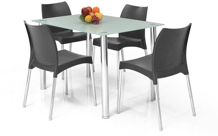 home by Nilkamal Napoli Glass 4 Seater Dining Set Price  : fidsnapolnkit4sblk 4 seater pp home black whiteblack original imaebkgczq3k6bzh from www.flipkart.com size 832 x 520 jpeg 30kB
