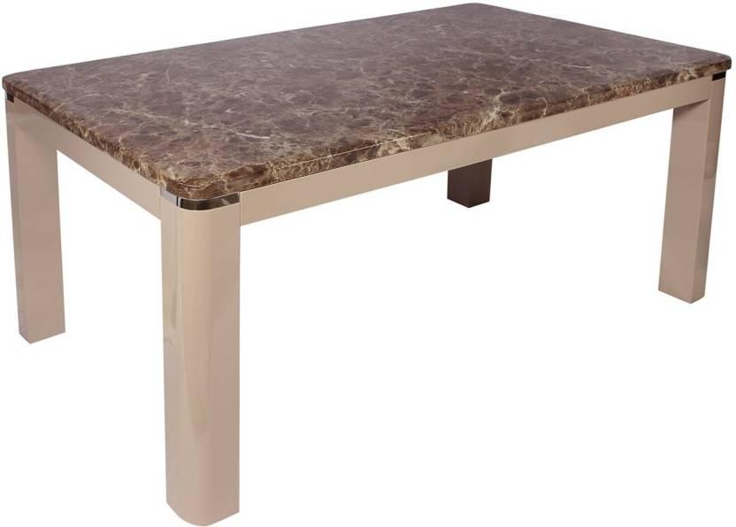 279e74cd79 Godrej Interio Dinnete Stone 6 Seater Dining Table Price in India ...