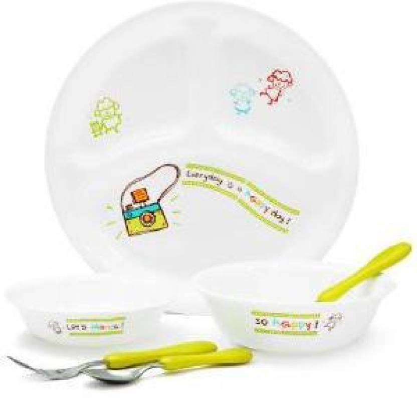 Corelle Kids Collection Happy Day Pack Of 6 Dinner Set
