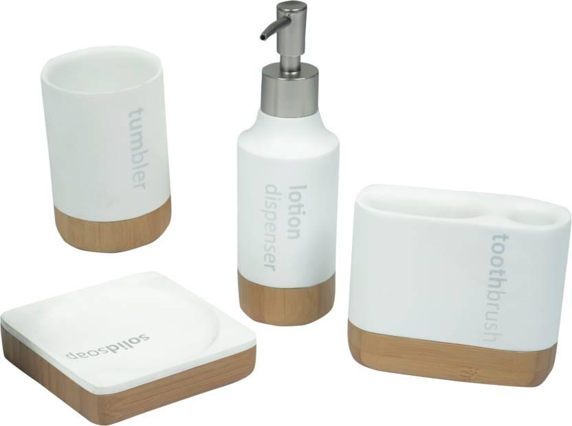 Seven Seas Ceramic Bathroom Set