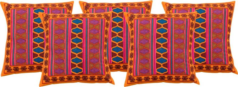 RajasthaniKart Abstract Cushions Cover