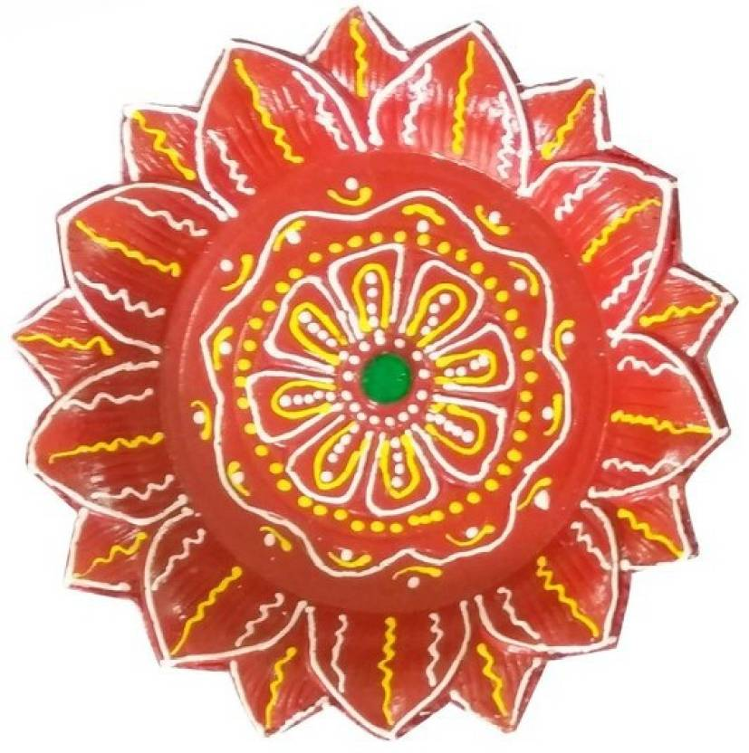 Craft Art India Handmade Rangoli Design Earthen Clay Terracotta