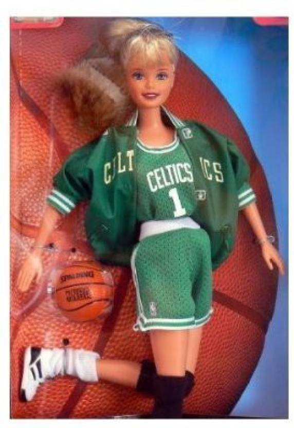 san francisco 22edd 7b981 Mattel Barbie Nba Boston Celtics - Barbie Nba Boston Celtics ...