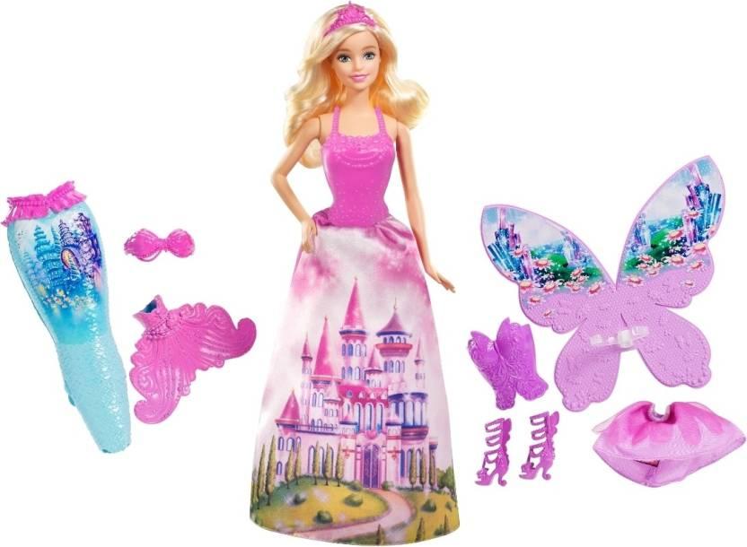Barbie Mermaid Fairy Tale Dress Up Mermaid Fairy Tale