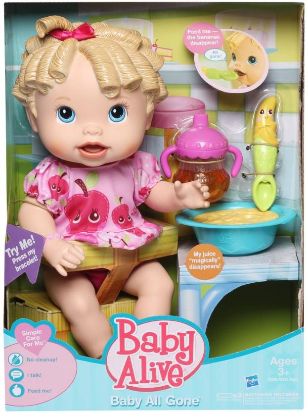 Funskool Baby Alive Baby All Gone Baby Alive Baby