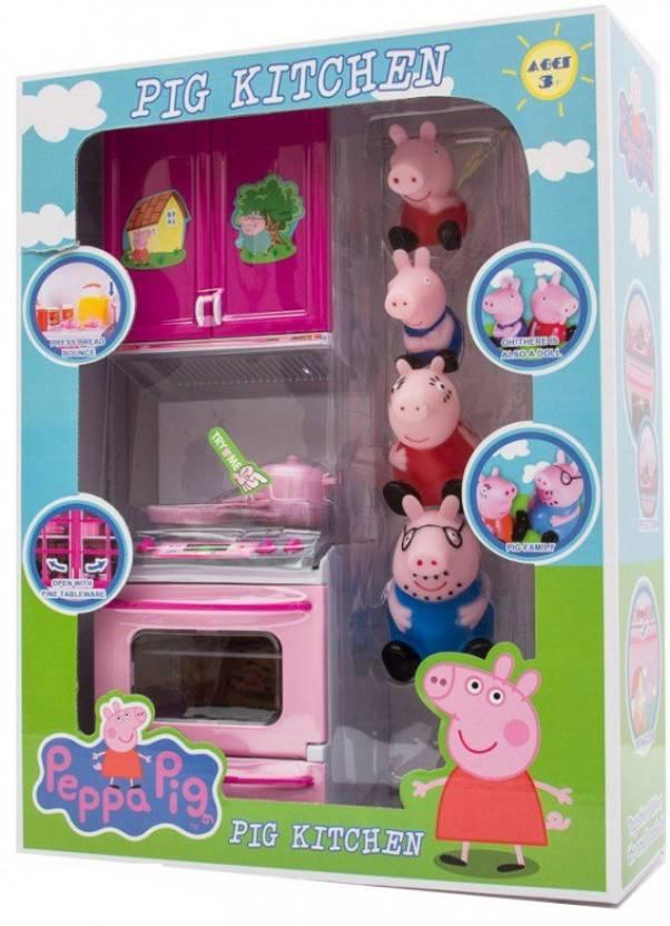 Switch Control Peppa Pig Electronic Kitchen Set Peppa Pig