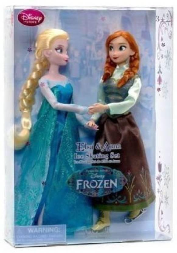 4460613eef Disney Frozen Princess Elsa   Anna Ice Skating Set 115