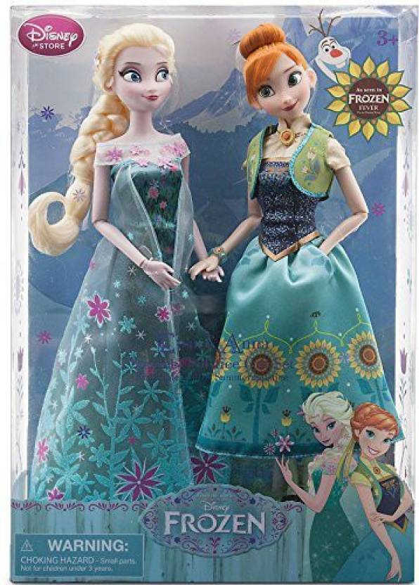 7782313dd4 Disney Frozen Fever Anna And Elsasummer Solstice Gift Set 12   (Multicolor)