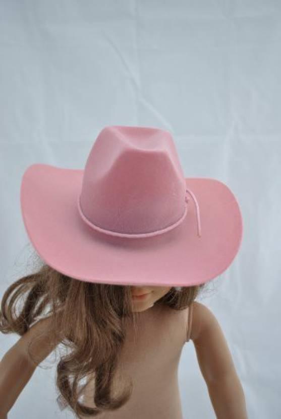 cdafcbde3 Unique Doll Clothing Pink Cowboy Hat For 18