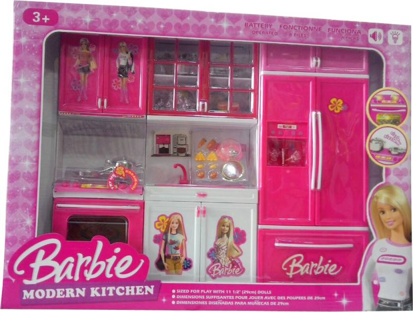 Nextgen Barbie Kitchen Set