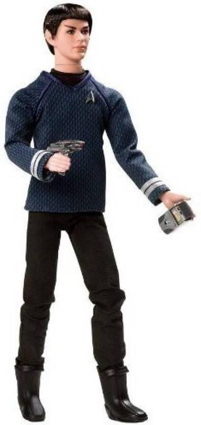 21a1348043c Mattel Barbie Doll Ken As Star Trek's Spock - Barbie Doll Ken As ...