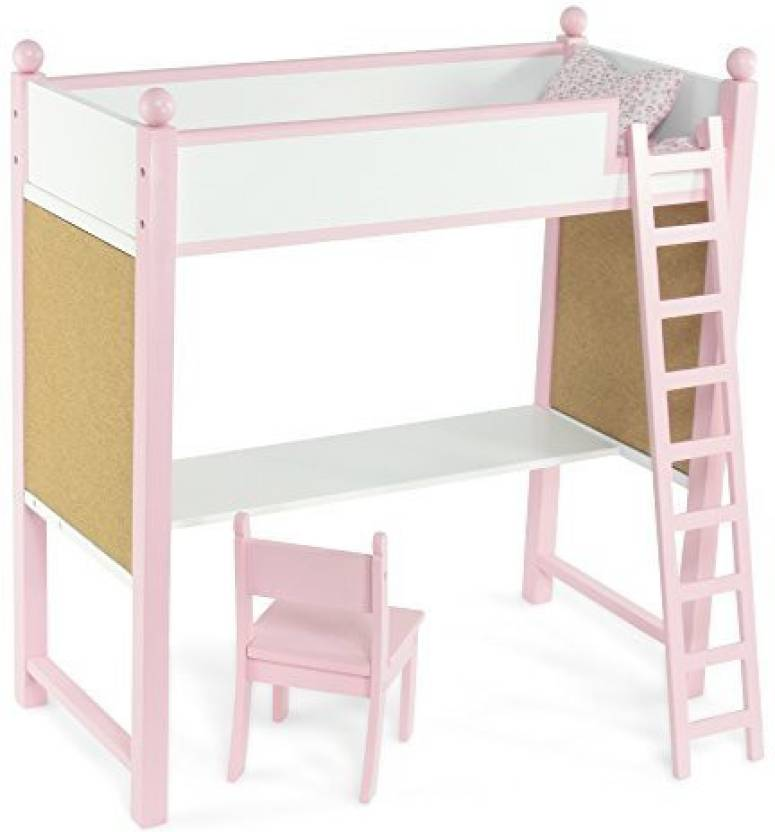 Emily Rose Doll Clothes Loft Bed Desk Set Fits American Girl 18
