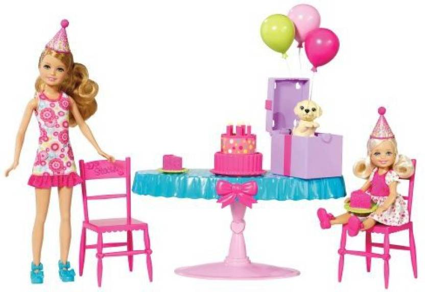 Barbie Chelsea Birthday Party Playset Chelsea Birthday