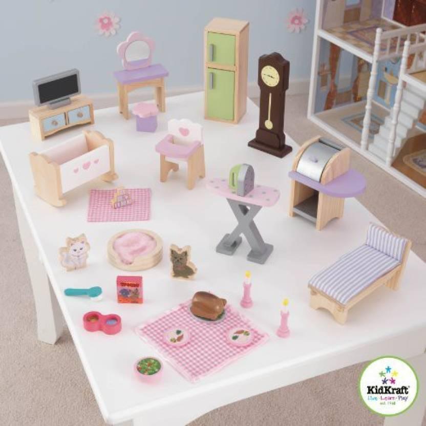 Kidkraft 28 Pc Dollhouse Furniture Set 28 Pc Dollhouse Furniture