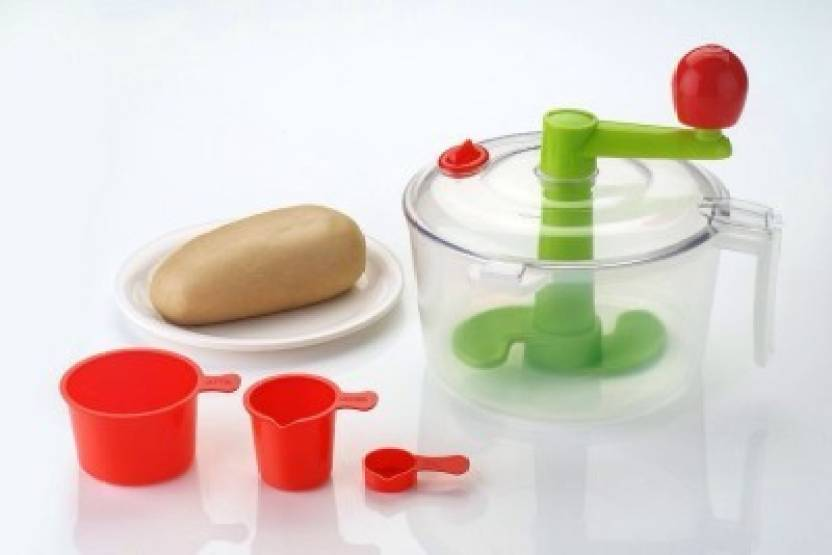 Mosaic 2in1 vegetable chopper Plastic Spiral Dough Maker