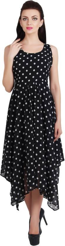 G & M Collections Women's Maxi Black Dress