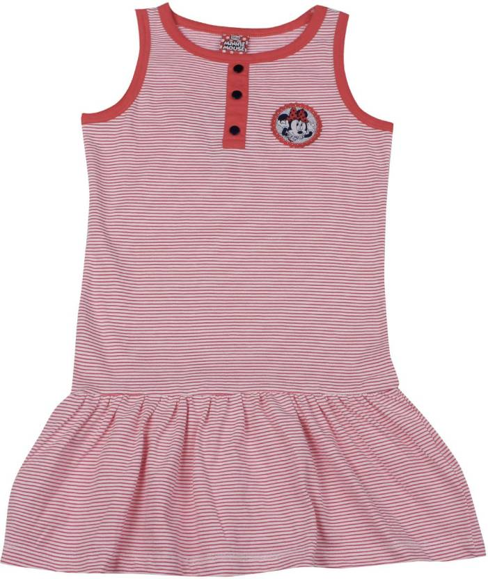 dee19219b Disney Minnie Girls Mini/Short Casual Dress Price in India - Buy ...