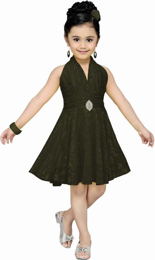 Midi length cocktail dress