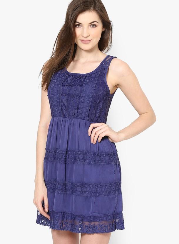 Vero moda navy blue dress