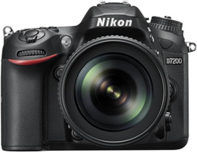 Nikon D7200 Body with AF-S 18 - 105 mm VR Lens DSLR Camera Body with ...