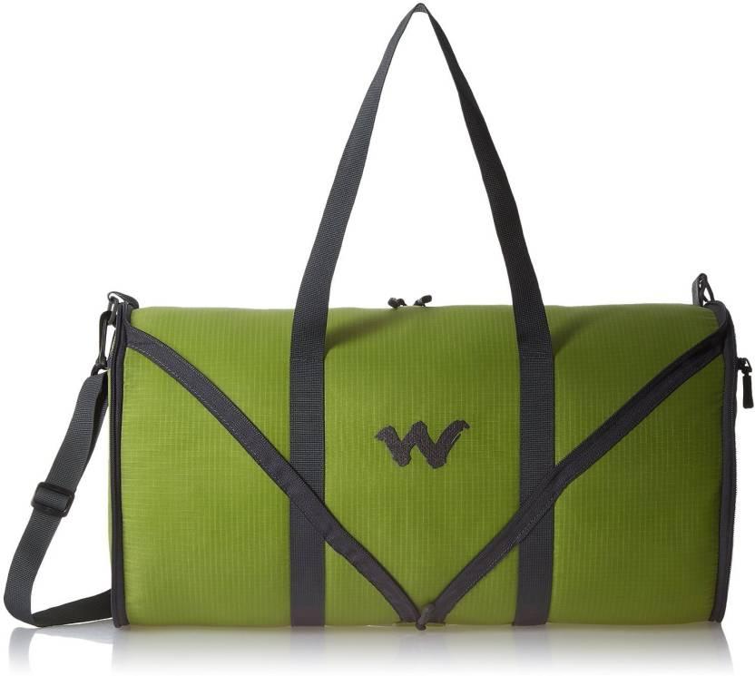 ea4b28655fa Wildcraft 18 inch 46 cm 8903338052456 Travel Duffel Bag Green ...