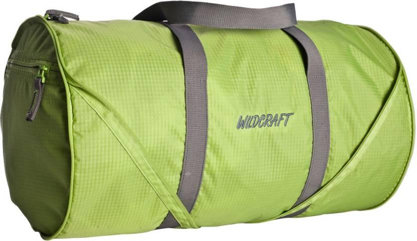 57ebd301cee7 Wildcraft 18 inch 46 cm Frisbee Travel Duffel Bag Green - Price in India