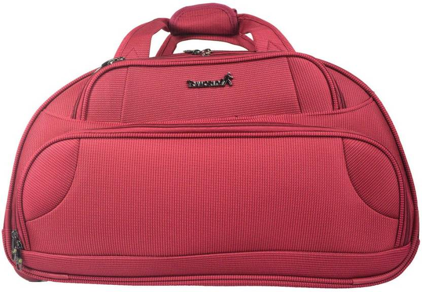 4e59a9c850e1 TRAWORLD Exclusive 22 inch 2 wheel Travel Duffel Bag Red - Price in ...