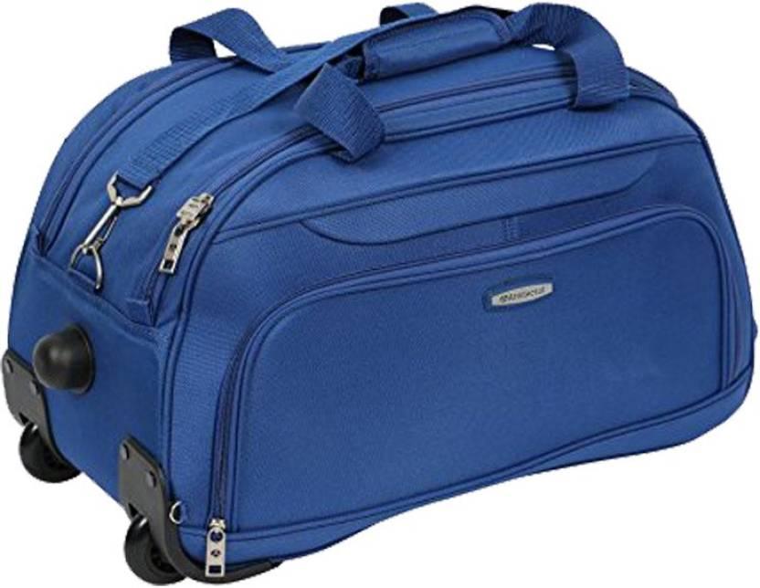 Aristocrat DART STROLLY DUFFLE Duffel Strolley Bag BLUE - Price in ... a8337c66cf217