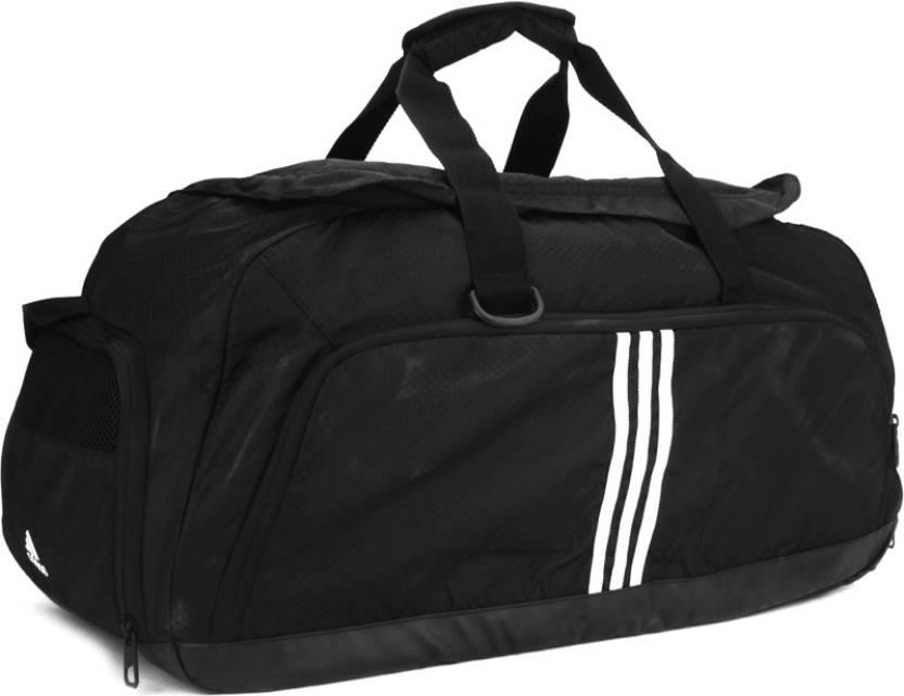 f4926ccd7a0551 ADIDAS 3S Per Tb M Gym Bag Black - Price in India | Flipkart.com