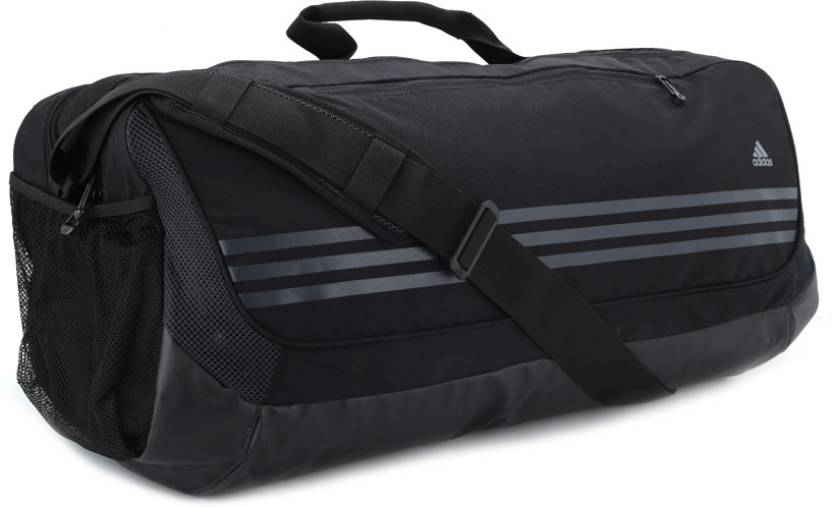 ADIDAS 23 inch 60 cm Travel Duffel Bag Black - Price in India ... 0b9c6fd2ea301
