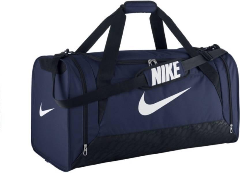 Nike 28 inch 73 cm Travel Bag Travel Duffel Bag Navy Black - Price ... dff3eff105d90