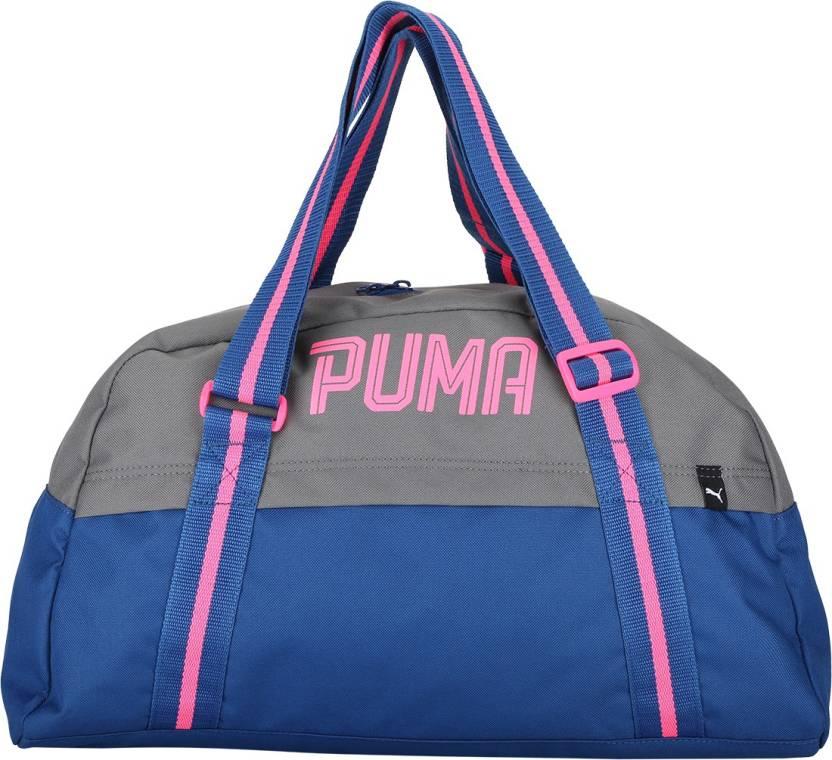 Puma Fundamentals Sports Bag Female Gym Bag TRUE BLUE - Price in ... ef5b6a5a84db9