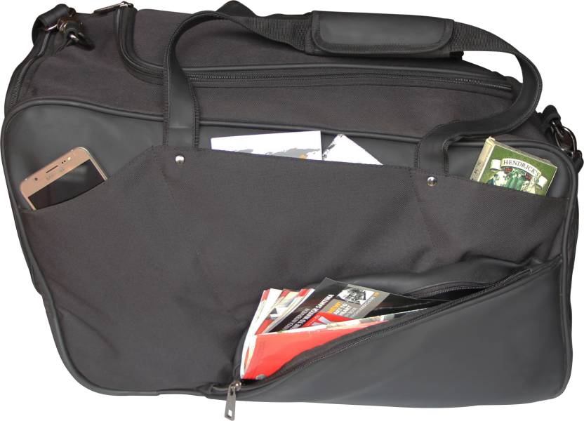 Mohawk 11 Pocket Premium Travel Duffel Bag Black - Price in India ... 41bbcd16fb312