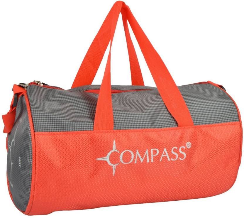 6a2af325fea9 Compass 14 inch 36 cm Light-weight Cool Style Gym Bag in Red Gym Bag (Red)