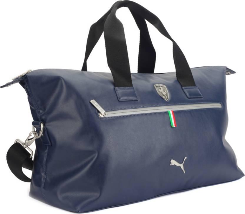 4c87381f9985 Puma 21 inch 55 cm Ferrari LS Travel Duffel Bag Blue - Price in ...