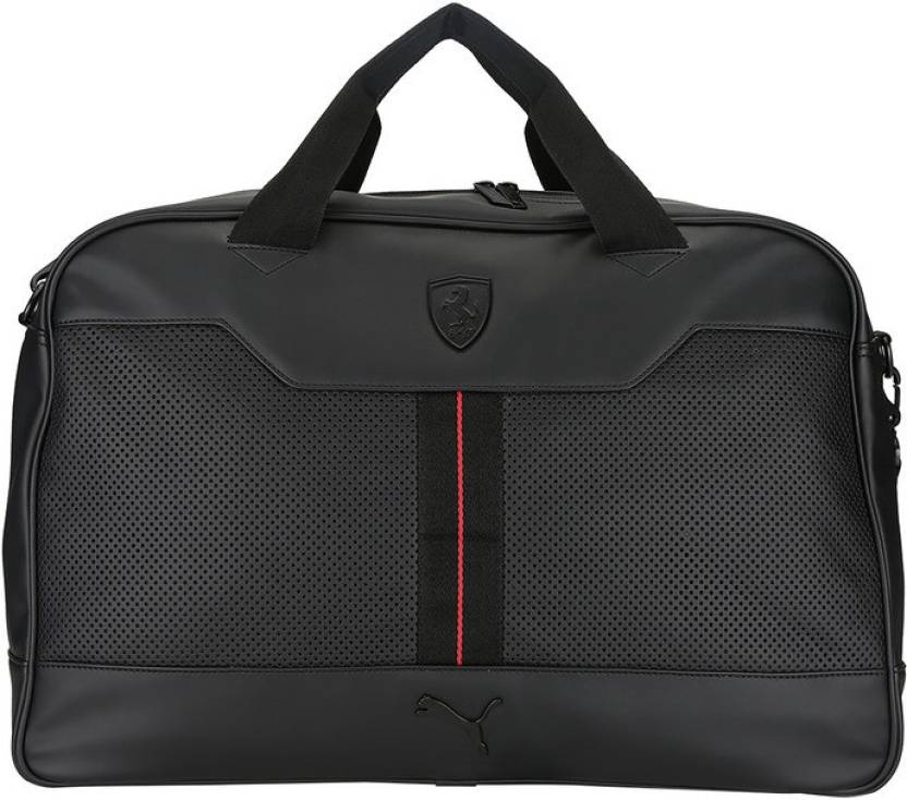 Puma Ferrari LS Weekender Travel Duffel Bag Puma Black - Price in ... b2e708cdb394f
