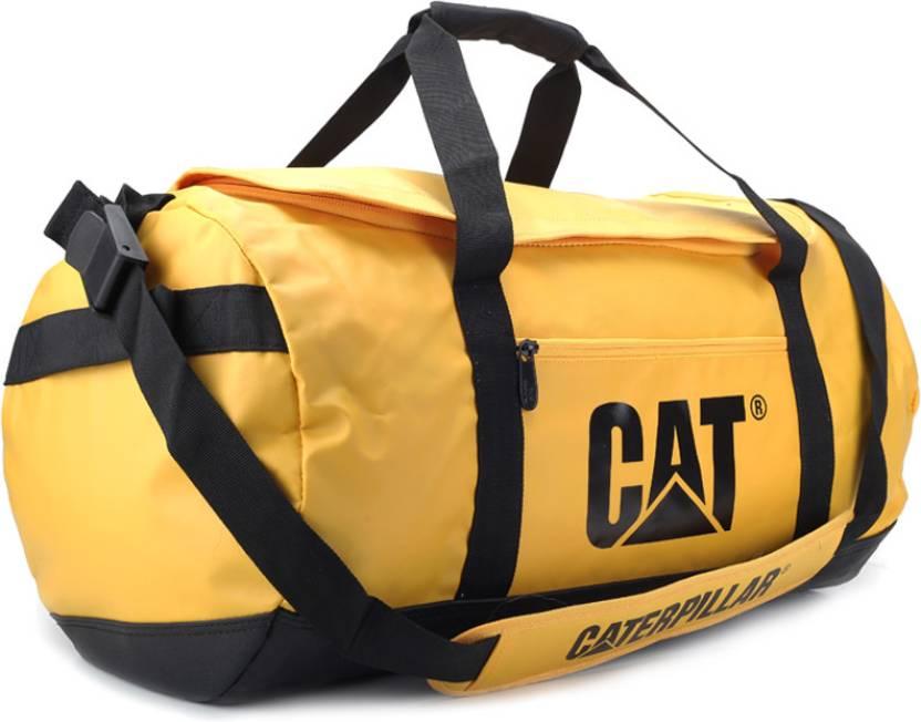 0ac921c45b3 CAT 23 inch/59 cm Yosemite Travel Duffel Bag Black and Cat Yellow - Price  in India   Flipkart.com