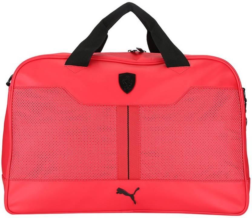 ac1ccd229e Puma Ferrari LS Weekender Travel Duffel Bag Rosso Corsa - Price in ...
