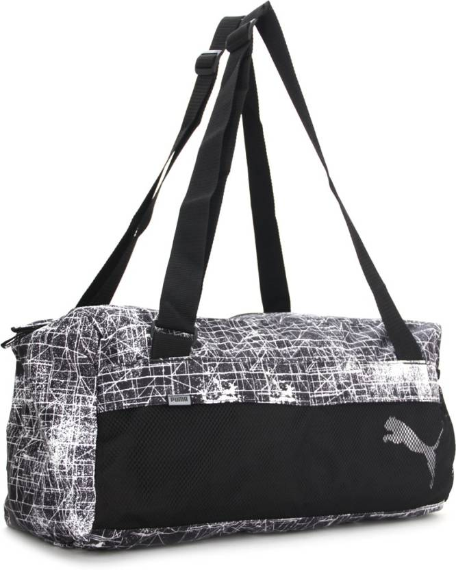f1dd376c3474 Puma Gym Bag Puma black puma white distressed - Price in India ...