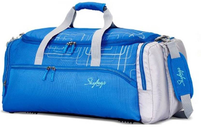 Skybags 21 inch 55 cm ART DUFFLE Travel Duffel Bag BLUE - Price in ... 125a3e4bd658f