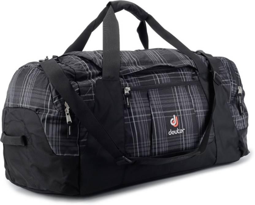 1408be51ac Deuter 23 inch 60 cm Relay 80 Travel Duffel Bag Black - Price in India